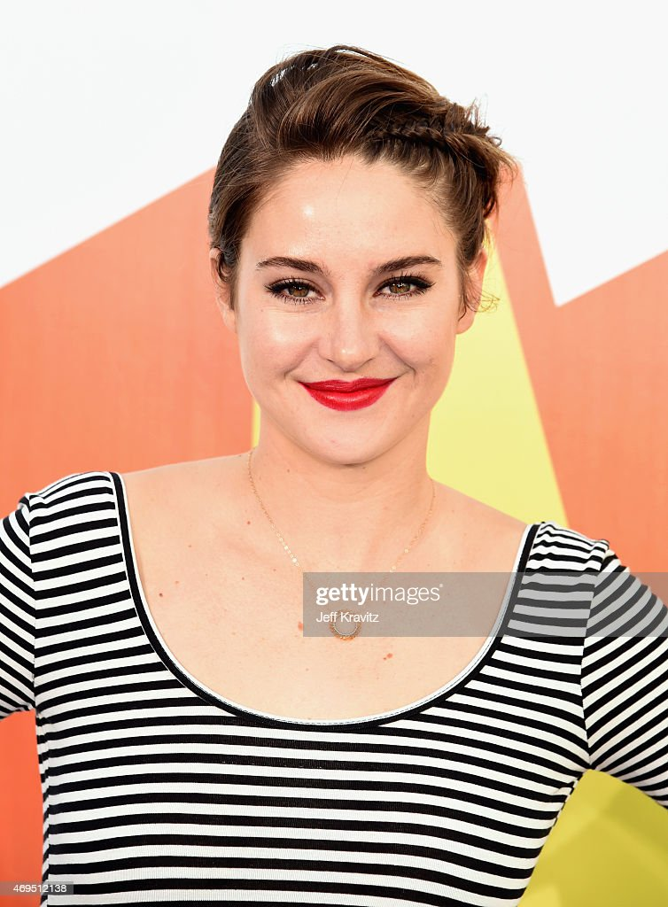 Actress Shailene Woodley attends The 2015 MTV Movie Awards at Nokia Theatre L.A. Live on April 12, 2015 in Los Angeles, California.
