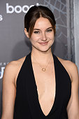 Actress Shailene Woodley attends 'The Divergent Series Insurgent' New York premiere at Ziegfeld Theater on March 16 2015 in New York City