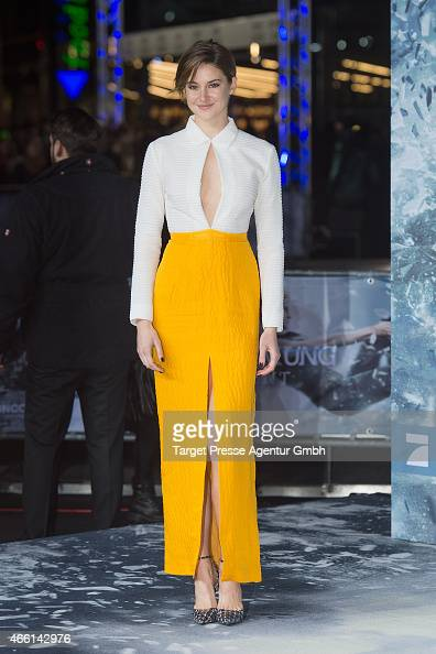 Actress Shailene Woodley attends the German Premiere of 'Die Bestimmung Insurgent' at CineStar on March 13 2015 in Berlin Germany