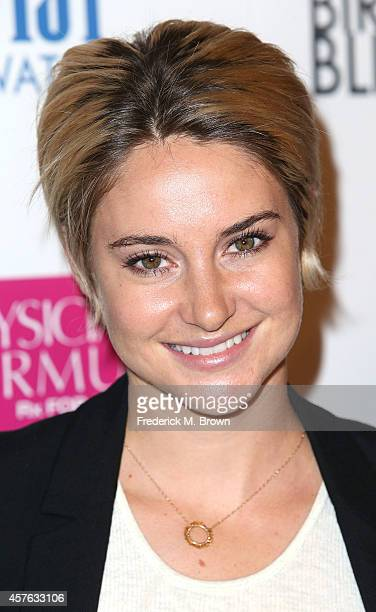 Actress Shailene Woodley attends the Premiere of Magnolia Pictures' 'White Bird in a Blizzard' at the ArcLight Hollywood on October 21 2014 in...