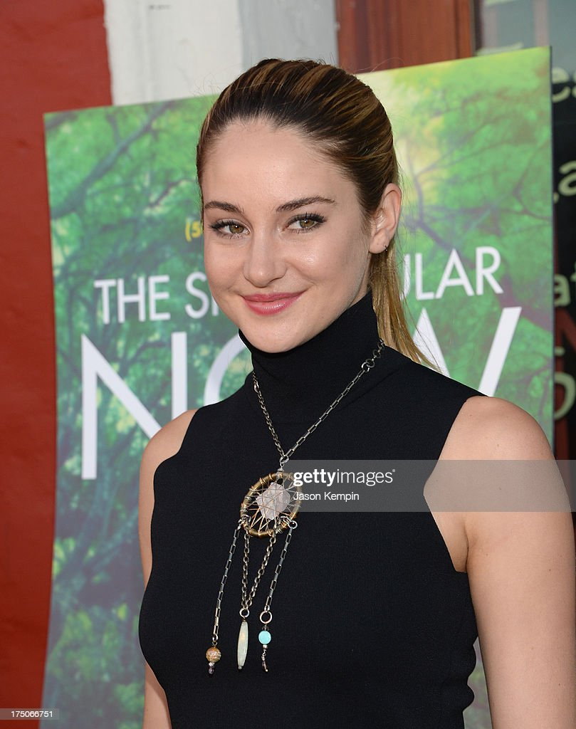 Actress Shailene Woodley attends the screening of A24's 'The Spectacular Now' at the Vista Theatre on July 30, 2013 in Los Angeles, California.