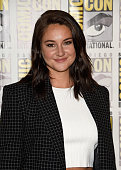 Actress Shailene Woodley attends the 'Snowden' press line during ComicCon International 2016 at Hilton Bayfront on July 21 2016 in San Diego...