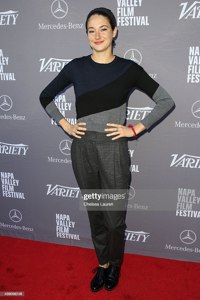 Actress Shailene Woodley attends the Variety 10 producers to watch and indie impact presented by Mercedes-Benz at The Culinary Institute of America on November 15, 2014 in St Helena, California.