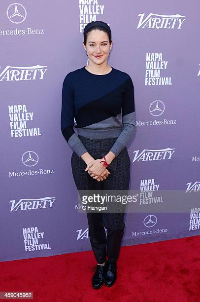 Actress Shailene Woodley attends Variety's '10 Producers to Watch' Brunch at The Culinary Institute of America at Greystone College on November 15...