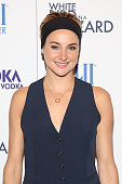 Actress Shailene Woodley attends 'White Bird In A Blizzard' New York Screening at Sunshine Landmark on October 15 2014 in New York City