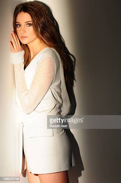 Actress Shailene Woodley is photographed for Coco Eco Magazine on January 15 2012 in Santa Monica California PUBLISHED IMAGE