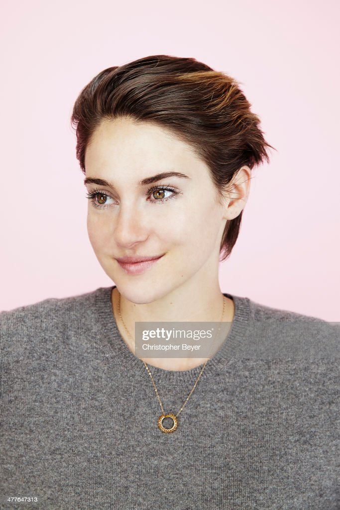 Actress <a gi-track='captionPersonalityLinkClicked' href=/galleries/search?phrase=Shailene+Woodley&family=editorial&specificpeople=676833 ng-click='$event.stopPropagation()'>Shailene Woodley</a> is photographed for Entertainment Weekly Magazine on January 25, 2014 in Park City, Utah.