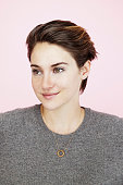 Actress Shailene Woodley is photographed for Entertainment Weekly Magazine on January 25 2014 in Park City Utah