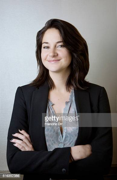 Actress Shailene Woodley is photographed for Los Angeles Times on March 4 2016 in Los Angeles California PUBLISHED IMAGE CREDIT MUST READ Francine...
