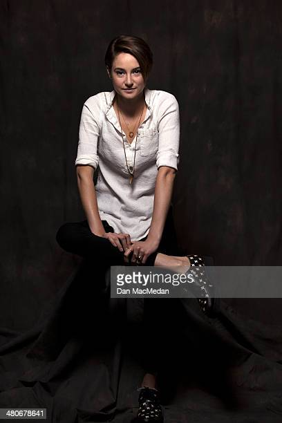 Actress Shailene Woodley is photographed for USA Today on March 8 2014 in Los Angeles California PUBLISHED IMAGE