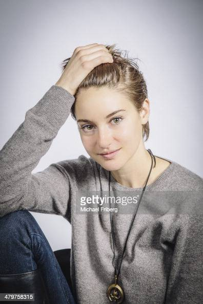 Actress Shailene Woodley is photographed for Variety on January 18 2014 in Park City Utah