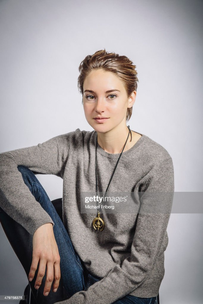 Actress Shailene Woodley is photographed for Variety on January 18, 2014 in Park City, Utah.