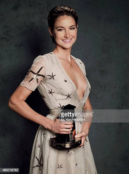 Actress Shailene Woodley poses for a portrait at the 18th Annual Hollywood Film Awards on November 14 2014 in Hollywood California