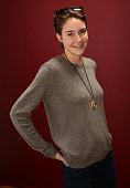 Actress Shailene Woodley poses for a portrait during the 2014 Sundance Film Festival at the Getty Images Portrait Studio at the Village At The Lift...