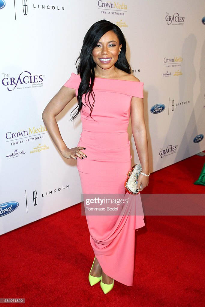 Actress Shalita Grant attends the 41st Annual Gracie Awards at Regent Beverly Wilshire Hotel on May 24, 2016 in Beverly Hills, California.