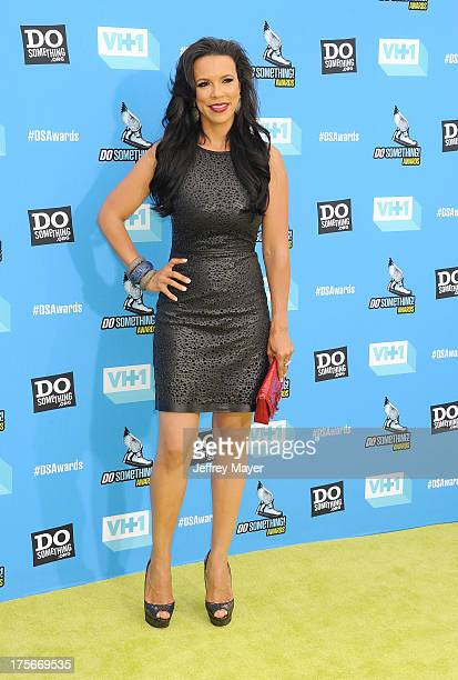 Actress Shamicka Lawrence arrives at the DoSomethingorg and VH1's 2013 Do Something Awards at Avalon on July 31 2013 in Hollywood California