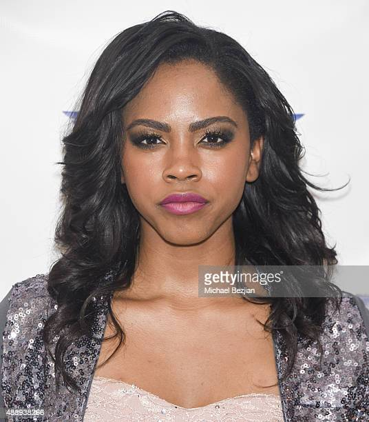 Actress Shanica Knowles arrives at Charmaine Blake Ultra Gold Gifting Suite at Mondrian Hotel on September 18 2015 in Los Angeles California