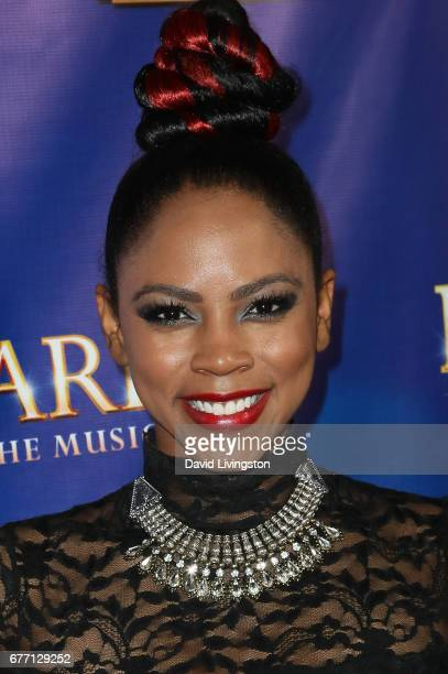 Actress Shanica Knowles arrives at the premiere of 'The Bodyguard' at the Pantages Theatre on May 2 2017 in Hollywood California