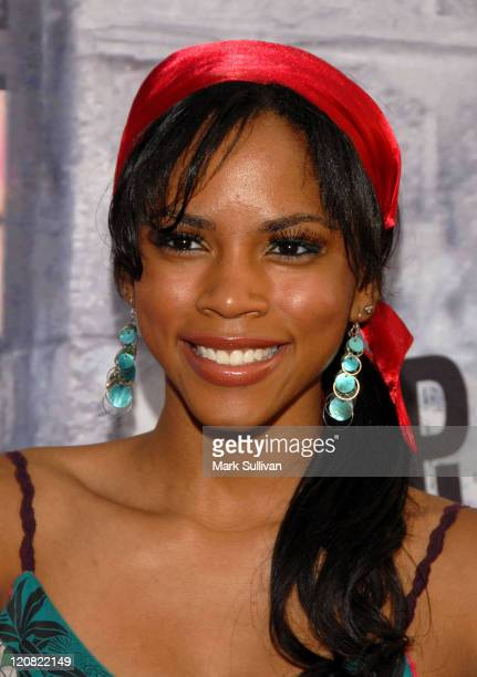 Actress Shanica Knowles arrives at the 'Step Up 2' DVD Release Party at the Avalon on July 14 2008 in Hollywood California