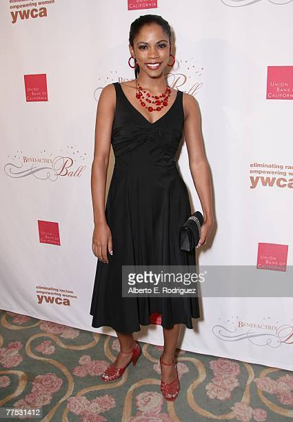 Actress Shanica Knowles at the YWCA Grand Masquerade Benefactrix Ball honoring attorney Gloria Allred held on October 26 2007 in Beverly Hills...
