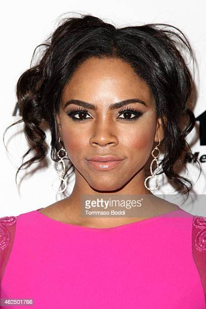 Actress Shanica Knowles attends the Lifetime Television's 'Megachurch Murder' premiere screening held at the Harmony Gold Theatre on January 29 2015...