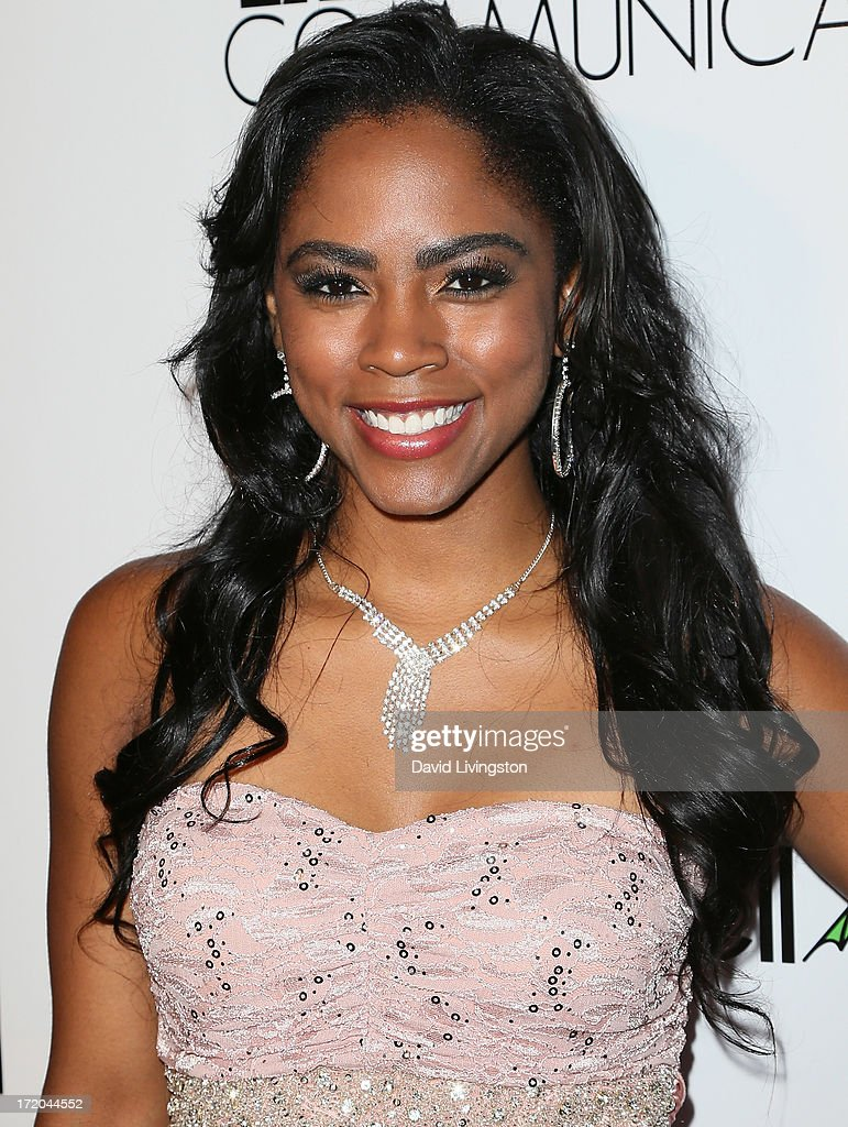 Actress <a gi-track='captionPersonalityLinkClicked' href=/galleries/search?phrase=Shanica+Knowles&family=editorial&specificpeople=4278770 ng-click='$event.stopPropagation()'>Shanica Knowles</a> attends the 'Party After' BET Awards 2013 hosted by Chris Brown and Nick Cannon at the Belasco Theater on June 30, 2013 in Los Angeles, California.