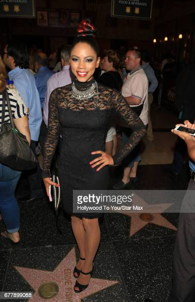 Actress Shanica Knowles is seen on May 2 2017 in Los Angeles California