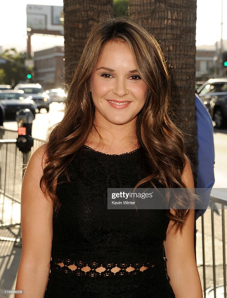 Actress Shanley Caswell arrives at the premiere of Warner Bros. 'The Conjuring' at the Cinerama Dome on July 15, 2013 in Los Angeles, California.