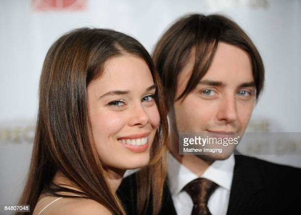 Actress Shanna Collins and actor Vincent Kartheiser arrive at the 13 Annual Art Directors Guild Awards held at the Beverly Hilton Hotel on February...