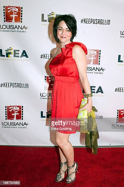Actress Shanna Forrestall attends Laissez Louisiana Film Rouler at the Celtic Studios on May 14 2013 in Baton Rouge Louisiana