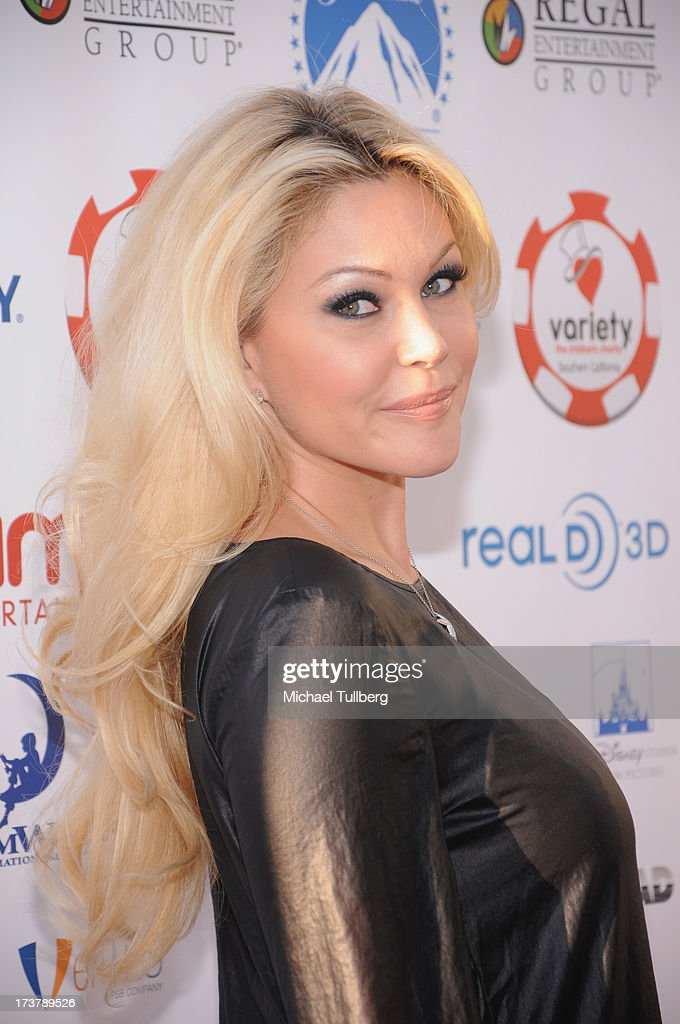Actress <a gi-track='captionPersonalityLinkClicked' href=/galleries/search?phrase=Shanna+Moakler&family=editorial&specificpeople=243047 ng-click='$event.stopPropagation()'>Shanna Moakler</a> attends the 3rd Annual Variety Charity Texas Hold 'Em Tournament & Casino Game at Paramount Studios on July 17, 2013 in Hollywood, California.