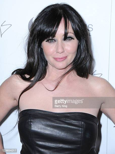 Actress Shannen Doherty arrives at the Los Angeles premiere of 'Burning Palms' held at ArcLight Cinemas on January 12 2011 in Hollywood California