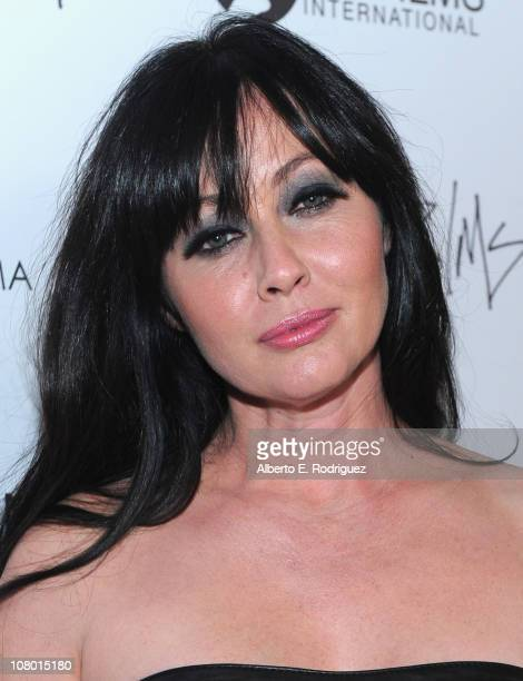 Actress Shannen Doherty arrives to the premiere of New Films Cinema's 'Burning Palms' on January 12 2011 in Los Angeles California