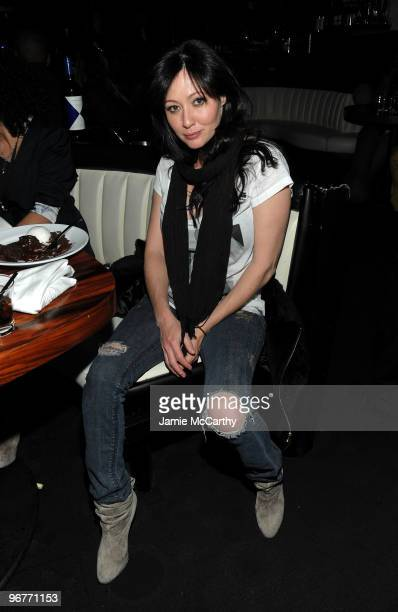 Actress Shannen Doherty attends GStar Raw Presents NY Raw Fall/Winter 2010 Collection dinner at STK on February 16 2010 in New York City