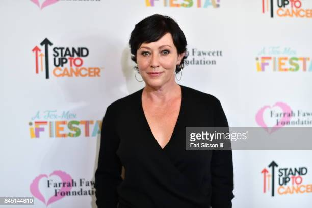 Actress Shannen Doherty attends the Farrah Fawcett Foundation's 'TexMex Fiesta' Honoring Stand Up To Cancer at Wallis Annenberg Center for the...