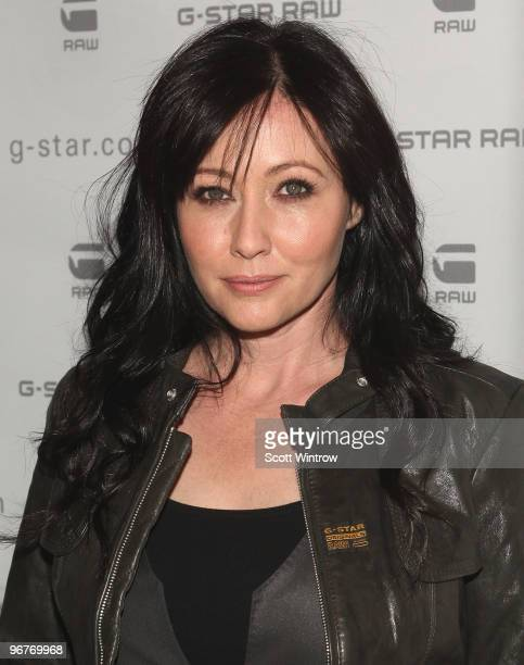Actress Shannen Doherty attends the GStar Raw Fall/Winter 2010 fashion show at Hammerstein Ballroom on February 16 2010 in New York City