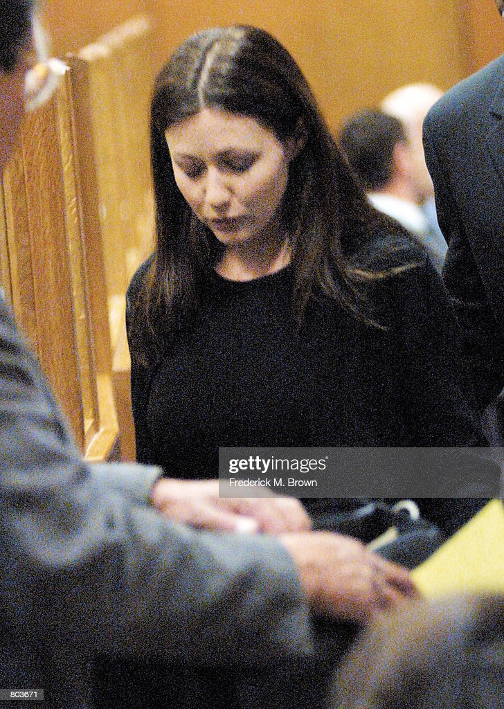 Actress Shannen Doherty makes an appearance in Ventura County Court on charges of Driving Under the Influence April 30, 2001 in Ventura, CA.