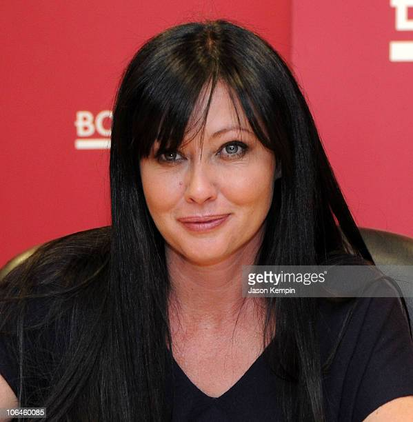 Actress Shannen Doherty promotes 'Badass' at Borders Books Music Columbus Circle on November 2 2010 in New York City