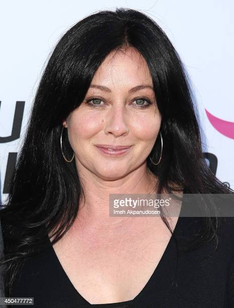 Actress Shannon Doherty attends the Pathway To The Cures For Breast Cancer fundraiser benefiting Susan G Komen presented by Relativity Media and...