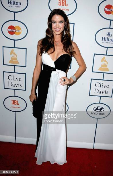 Actress Shannon Elizabeth attend the 56th annual GRAMMY Awards PreGRAMMY Gala and Salute to Industry Icons honoring Lucian Grainge at The Beverly...