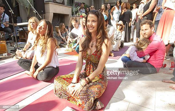 Actress Shannon Elizabeth attends Rainbeau Mars' 21 Day Superstar Cleanse Book Launch on May 4 2014 in Beverly Hills California