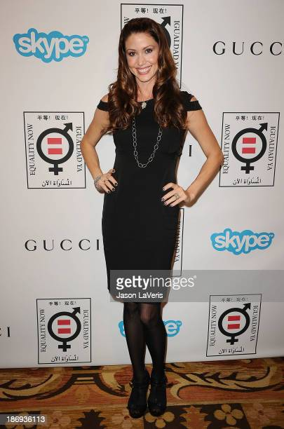 Actress Shannon Elizabeth attends the 'Make Equality Reality' event at Montage Beverly Hills on November 4 2013 in Beverly Hills California