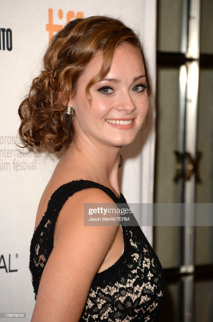 Actress Shannon Maree Walsh arrives at the 'Can A Song Save Your Life?' premiere during the 2013 Toronto International Film Festival at Princess of Wales Theatre on September 7, 2013 in Toronto, Canada.