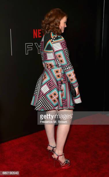 Actress Shannon Purser arrives at the Netflix FYSee Kick Off Event at Netflix FYSee Space on May 7 2017 in Beverly Hills California