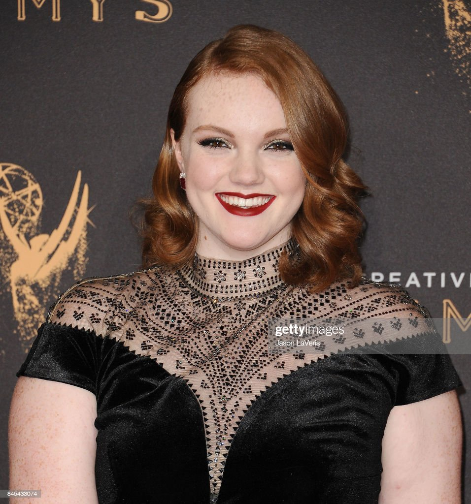 Actress Shannon Purser attends the 2017 Creative Arts Emmy Awards at Microsoft Theater on September 10, 2017 in Los Angeles, California.