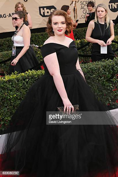 Actress Shannon Purser attends the 23rd Annual Screen Actors Guild Awards at The Shrine Expo Hall on January 29 2017 in Los Angeles California