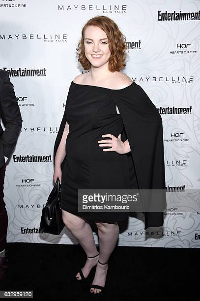Actress Shannon Purser attends the Entertainment Weekly Celebration of SAG Award Nominees sponsored by Maybelline New York at Chateau Marmont on...