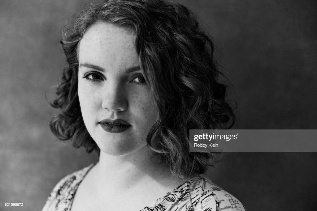 Actress Shannon Purser from Netflix's 'Stranger Things' poses for a portrait during Comic-Con 2017 at Hard Rock Hotel San Diego on July 22, 2017 in San Diego, California