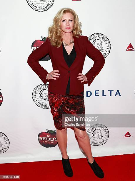 Actress Shannon Tweed attends The Friars Club Roast Honors Jack Black at New York Hilton and Towers on April 5 2013 in New York City