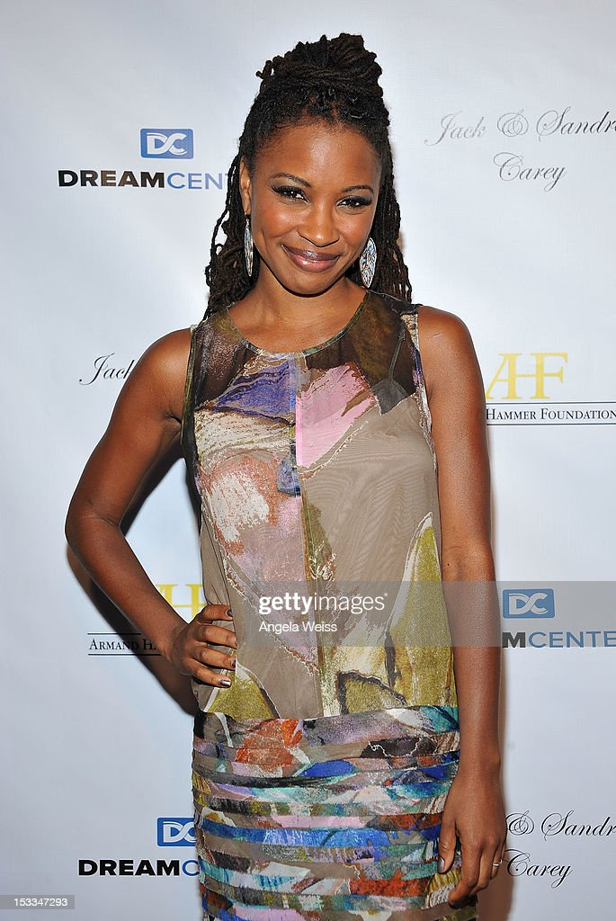 Actress Shanola Hampton arrives to The Dream Center's 5th annual night of dreams gala at The Dream Center on October 3, 2012 in Los Angeles, California.